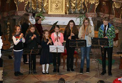 Schülerkonzert 2014 in der Schlosskapelle Burgrain